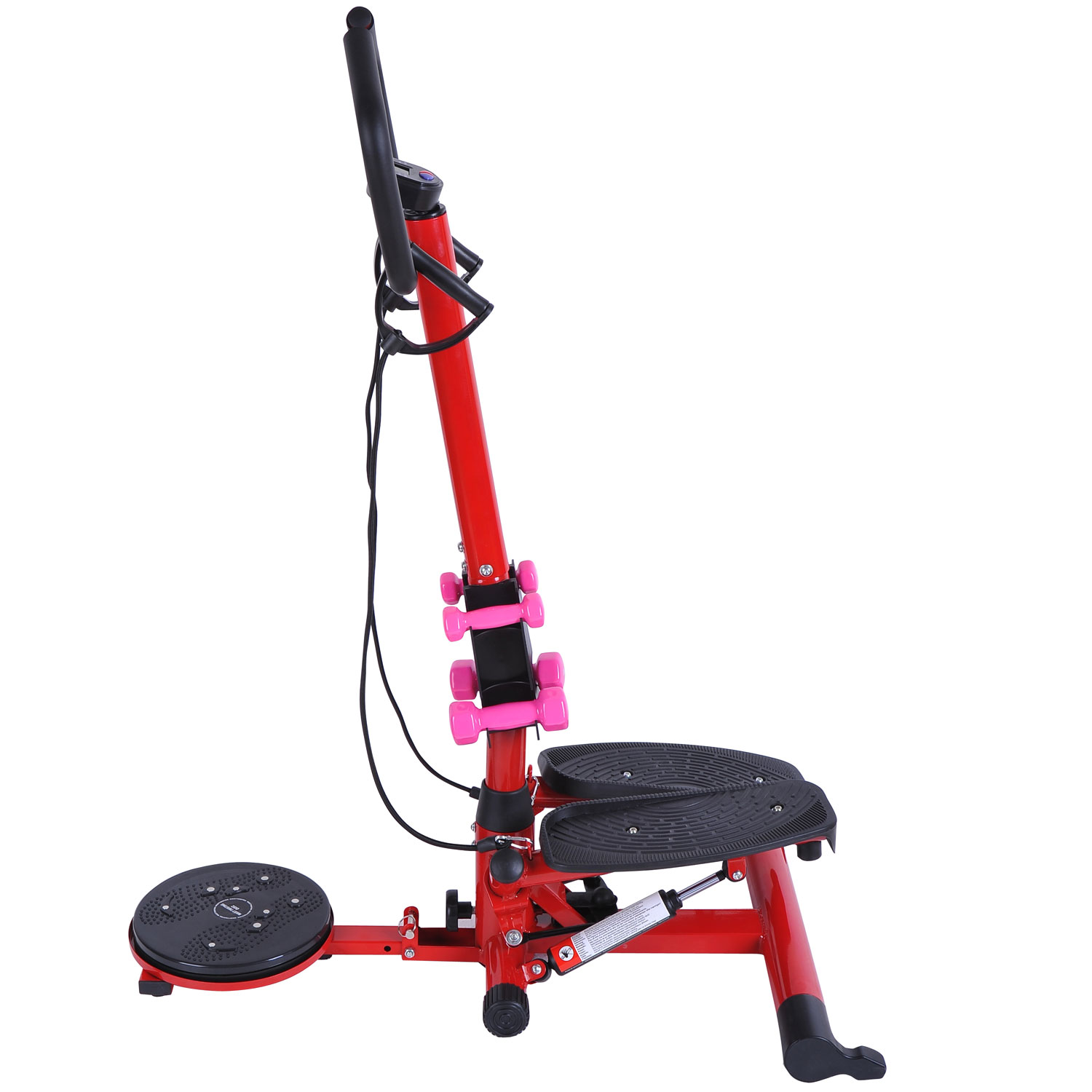 Soozier Twist Stepper Aerobic Cardio Exercise Machine LCD...