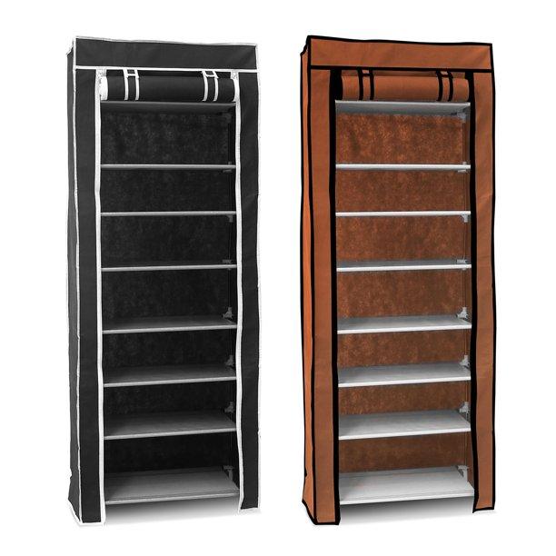 10 Tiers Diy Shoe Cabinet Dustproof