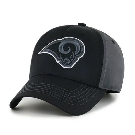 NFL Los Angeles Rams Blackball Adjustable Cap/Hat by Fan