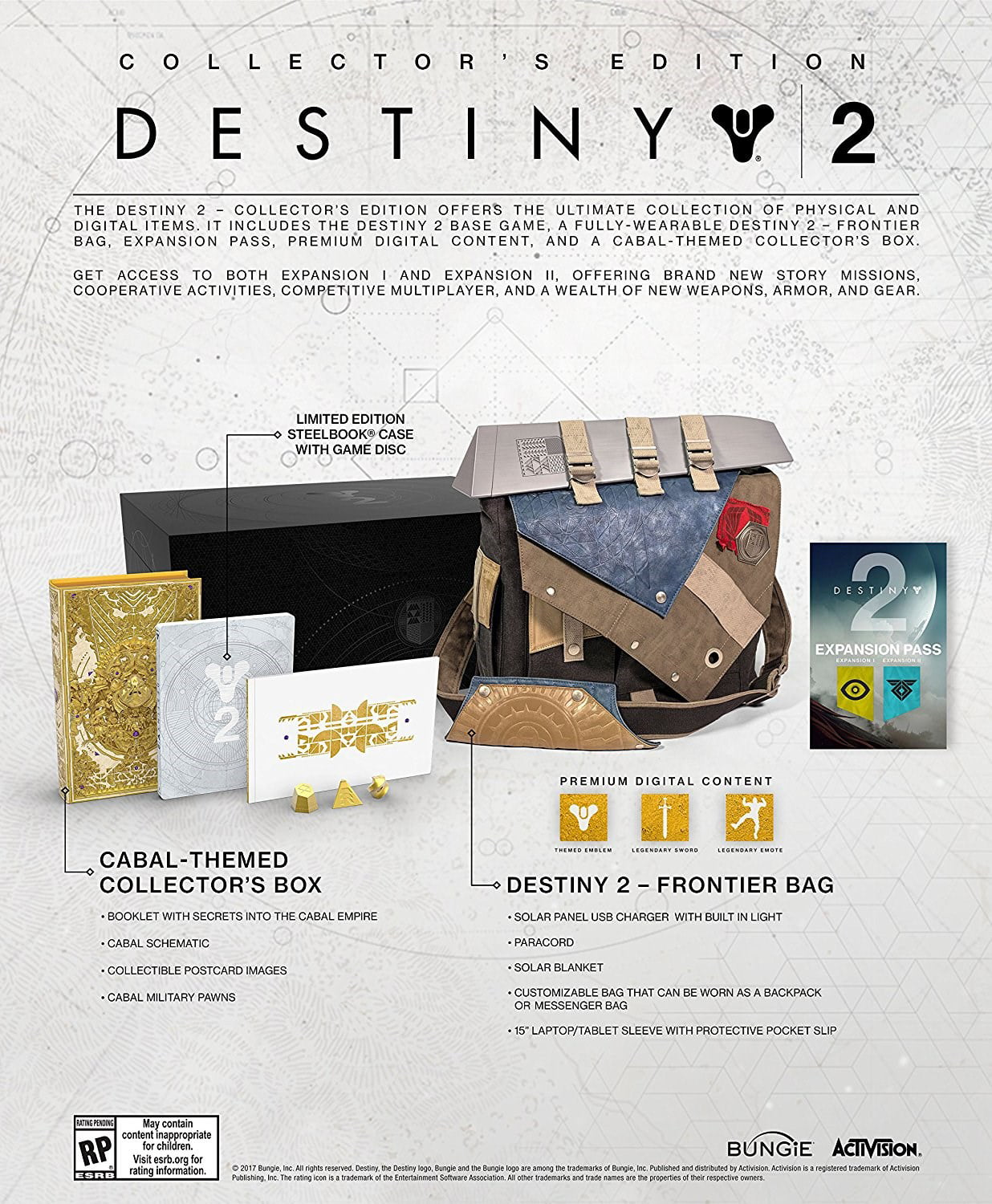 Destiny 2 Collector's Edition, Activision, PlayStation 4, 047875881037 by Activision