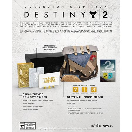 Destiny 2 Collectors Edition  Activision  Playstation 4  047875881037