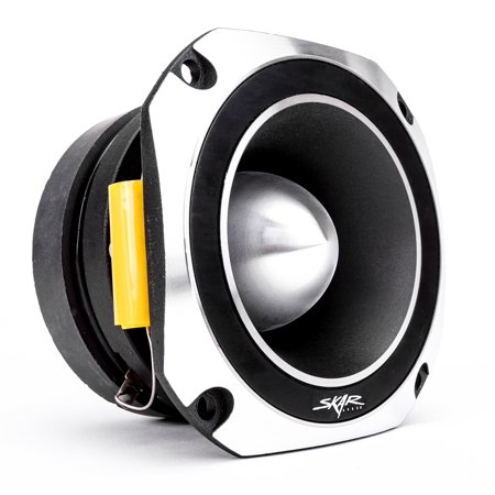 Skar Audio VX4-ST 4-Inch 600 Watt High Compression Titanium Bullet Tweeter 20mm Titanium Dome Tweeters