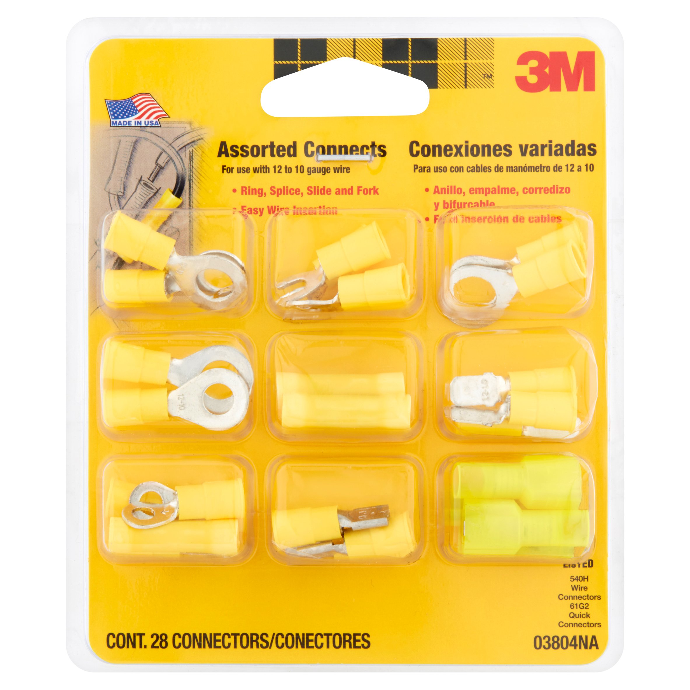3M Assorted Connects 28 count