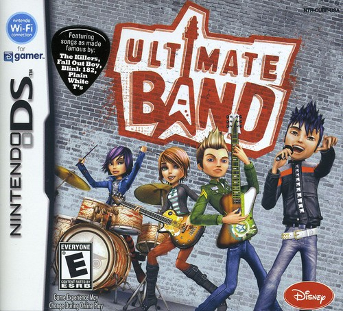 Ultimate Band, Disney Interactive Studios, NintendoDS, 712725005115