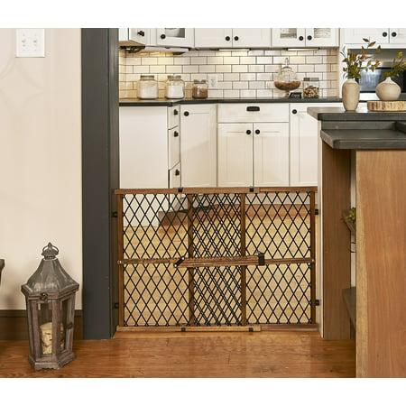 Evenflo Position & Lock Pressure Mount Gate, Farmhouse - Lock Security Gate