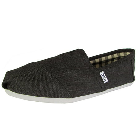 Toms Mens Classic Canvas Slip On Casual Loafer Shoe (Non Slip Toms)