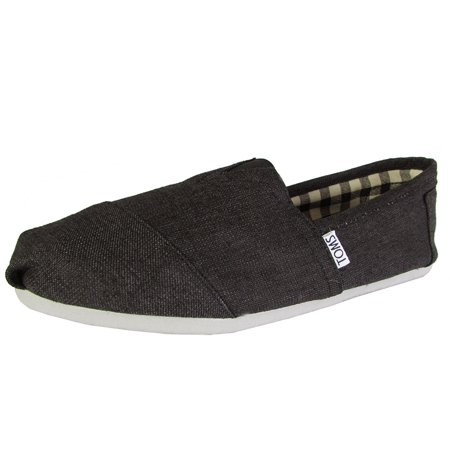 Toms Mens Classic Canvas Slip On Casual Loafer
