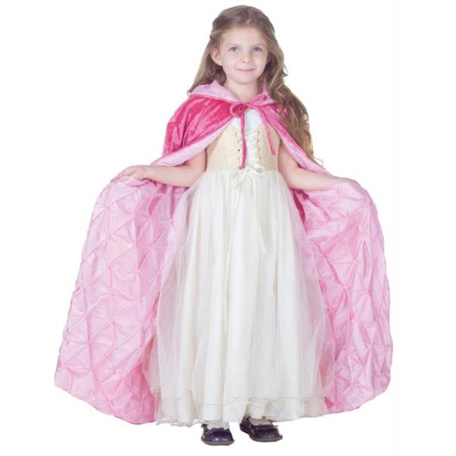Costumes For All Occasions UR25917 Cape Child Pink Panne Velvet
