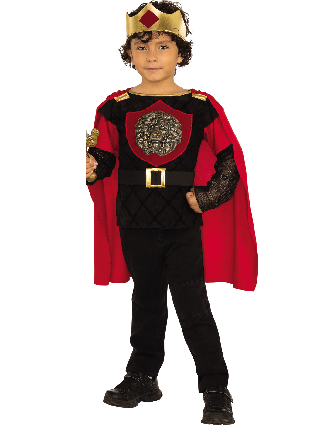 Little Knight Boy Royal King Soldier Child Halloween Costume  sc 1 st  Walmart & Soldier Costumes