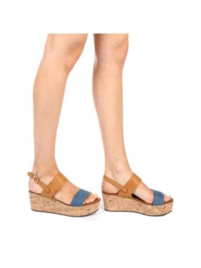0c7091a862834f Product Image Anne Michelle Berdine-04s Heeled Sandal. Bamboo