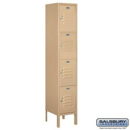 Salsbury Industries 3715S 09ARU 15 Door High Unit 55 in Single Column