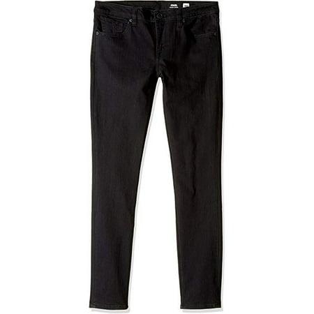 Volcom Big Boys' Solver Tapered Jeans, New Black, 30 Volcom Black Jeans