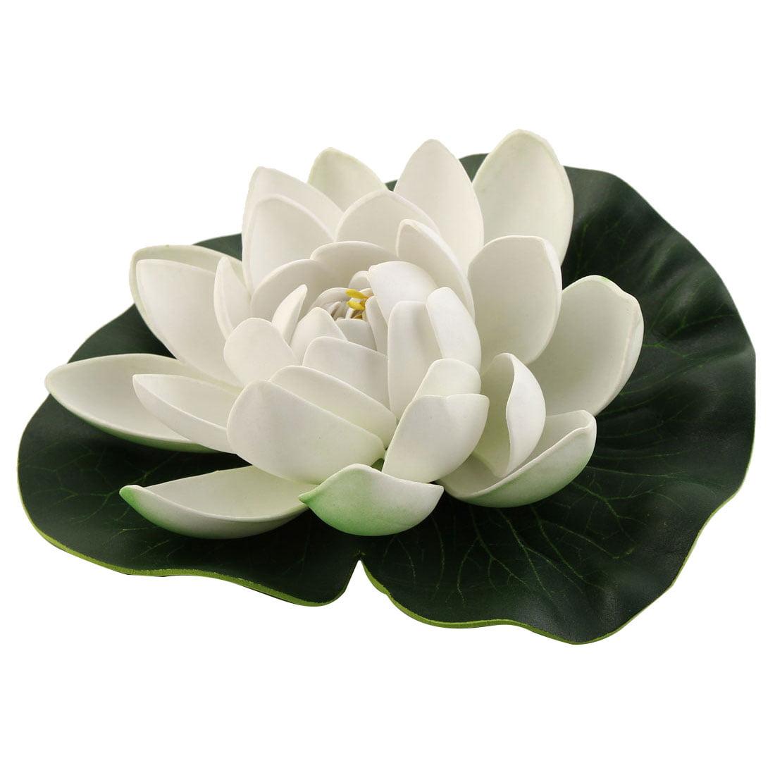 Aquarium Fish Tank Foam Artificial Floating Lotus Flower Decor Ornament