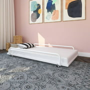 Twin Metal Daybed Trundle, White