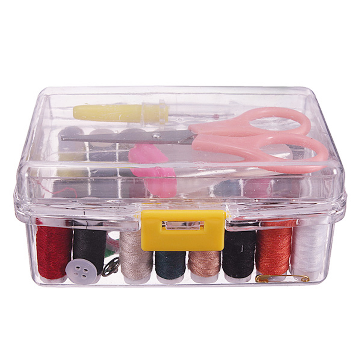 Meigar Sewing Kits Repair Travel Case Thread Threader Needle Tape Measure Scissor Thimble Storage Box Organizer Sewing Kit Supplies Set