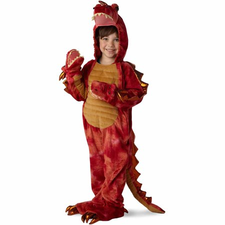 Halloween Costume Girl With The Dragon Tattoo (Hydra 3-Head Dragon Child Halloween)