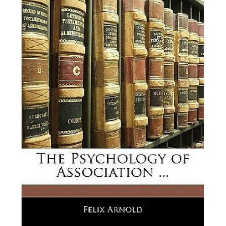 The Psychology of Association ... - image 1 de 1