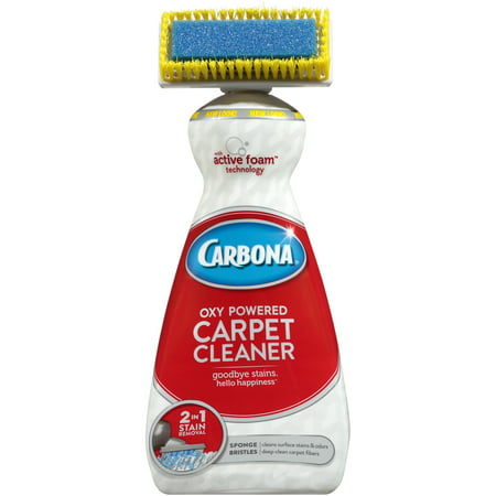 Carbona 2 in 1 Oxy-Powered Carpet & Upholstery Cleaner, 27.5 Fl