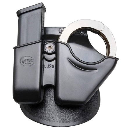 Paddle CU9G Handcuff / Magazine Combo - Glock / H&K 9/40, Excellent for on the job concealed carry. Adjustable tension design to accept most magazines.., By