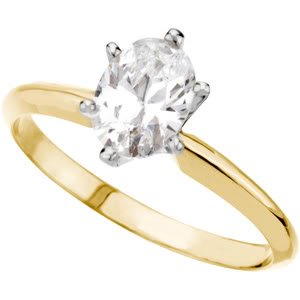 Pear Diamond Solitaire Engagement Ring 14k Yellow Gold (1.45 Ct, K Color, VVS2 Clarity) GIA Certified