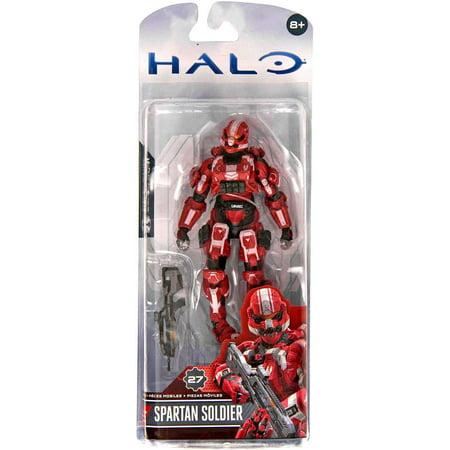 McFarlane Halo Series 3 Spartan Soldier Action - Spartan Soldiers Halo