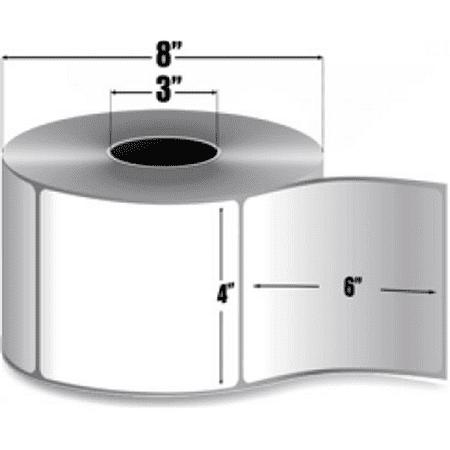 Datamax 421907 Matte Thermal Transfer Label 4 in x 6 in, 4-PK - New Open Box