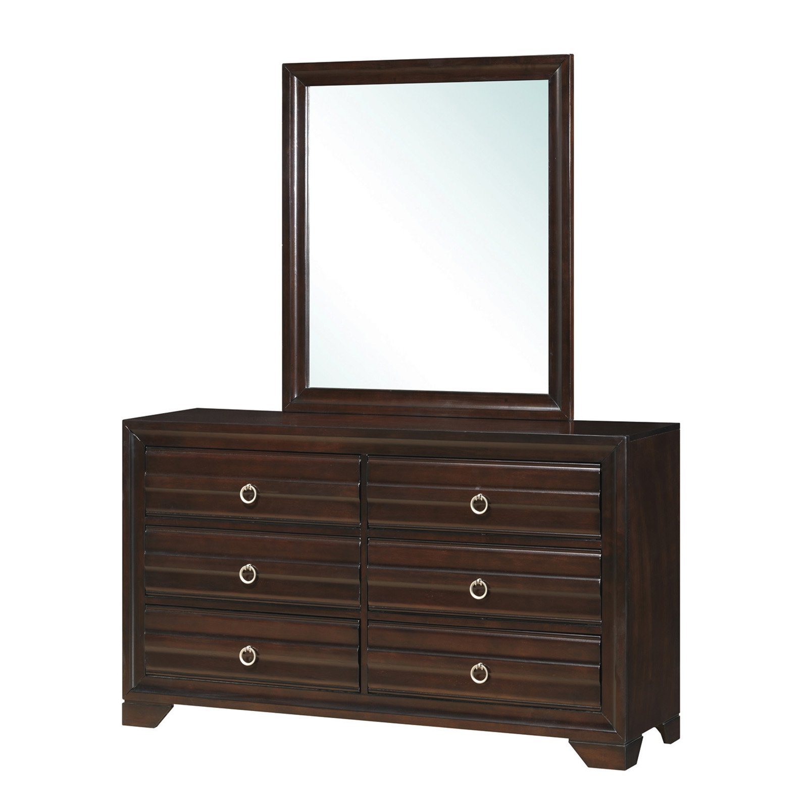 Coaster Company Home Furnishings Mirror (Cappuccino) by Overstock