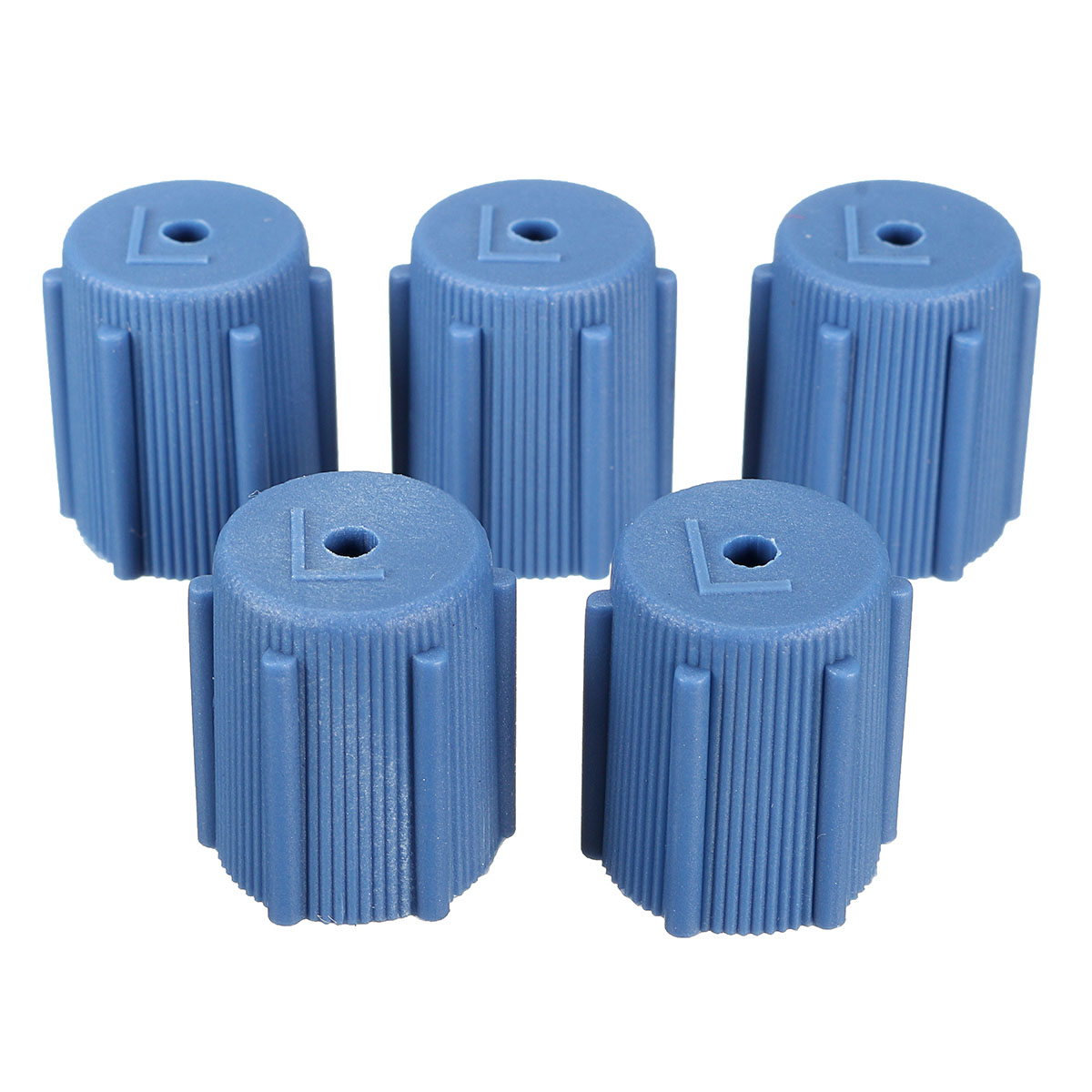 5X Universal 13mm Air Conditioning Service AC A/C System Cap Charging Port R134a