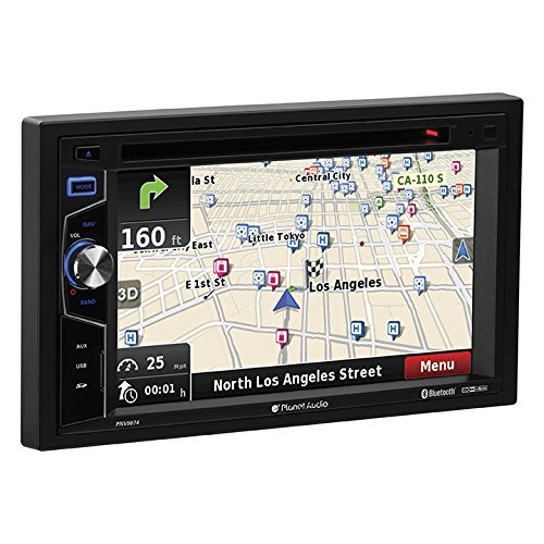 "Planet Audio PNV9674 Planet 6.2"" Ddin Touchscreen Monitor Bluetooth Dvd/cd/mp3/am/fm"