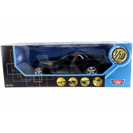 Chrysler Howler, Black - Motor Max 73118PL - 1/18 Scale Diecast Model Toy Car