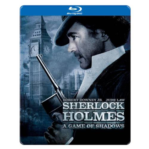 Sherlock Homes: A Game Of Shadows (Blu-ray) (Steelbook Packaging) (Widescreen)