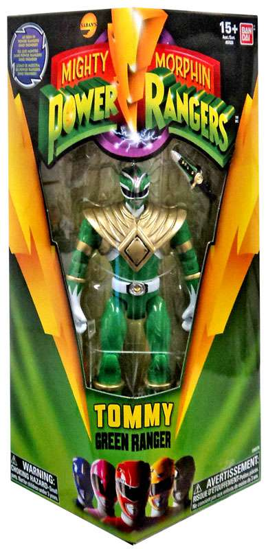 Mighty Morphin Power Rangers Tommy Green Ranger Action Figure by Bandai