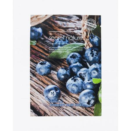 Secret Nature Firming Blueberry Mask Sheet 5 Pack](Farm Masks)