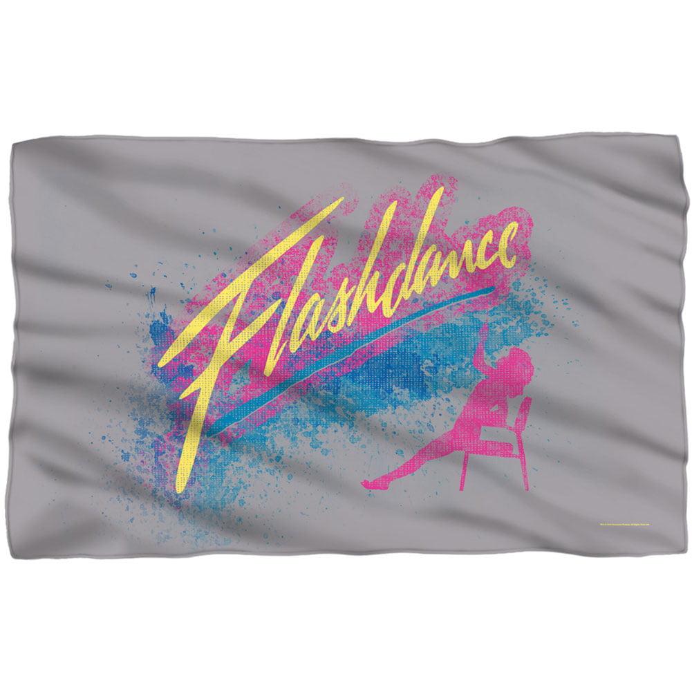 Flashdance Fleece Blanket