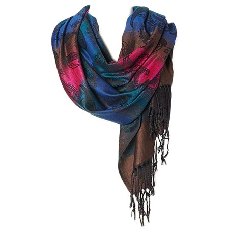 Goood Times Womens fashion scarves Long Pashmina shawls and wraps Womens Fancy Shawl Scarf Long (Ladies Fancy Collection)