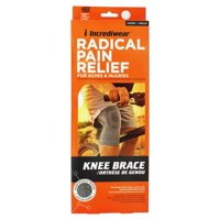Incrediwear - Radical Pain Relief Knee Brace Unisex - 2X 18-22 Inches