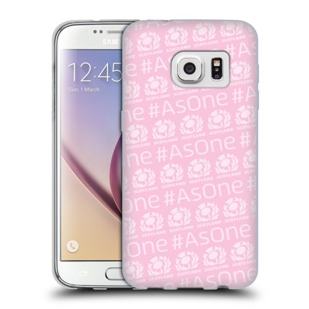 OFFICIAL SCOTLAND RUGBY 2018/19 AS ONE SOFT GEL CASE FOR SAMSUNG PHONES 1 ()
