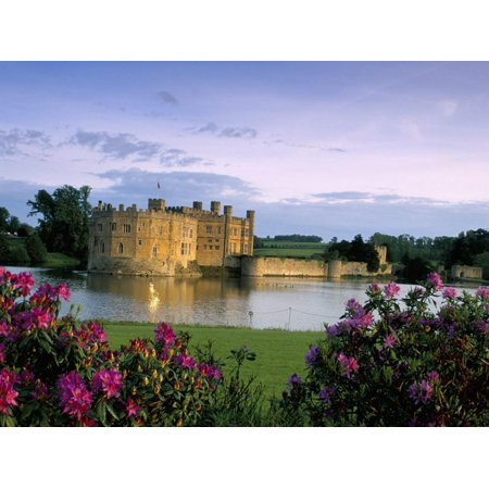 Leeds Castle, Kent, England, United Kingdom Print Wall Art By Adam Woolfitt ()