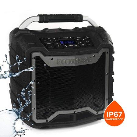 ECOXGEAR EcoTrek GDI-EXTRK210 Rugged Waterproof Floating Portable Bluetooth Wireless 100 Watt Stereo Smart Speaker and (Best Floating Tremolo System)