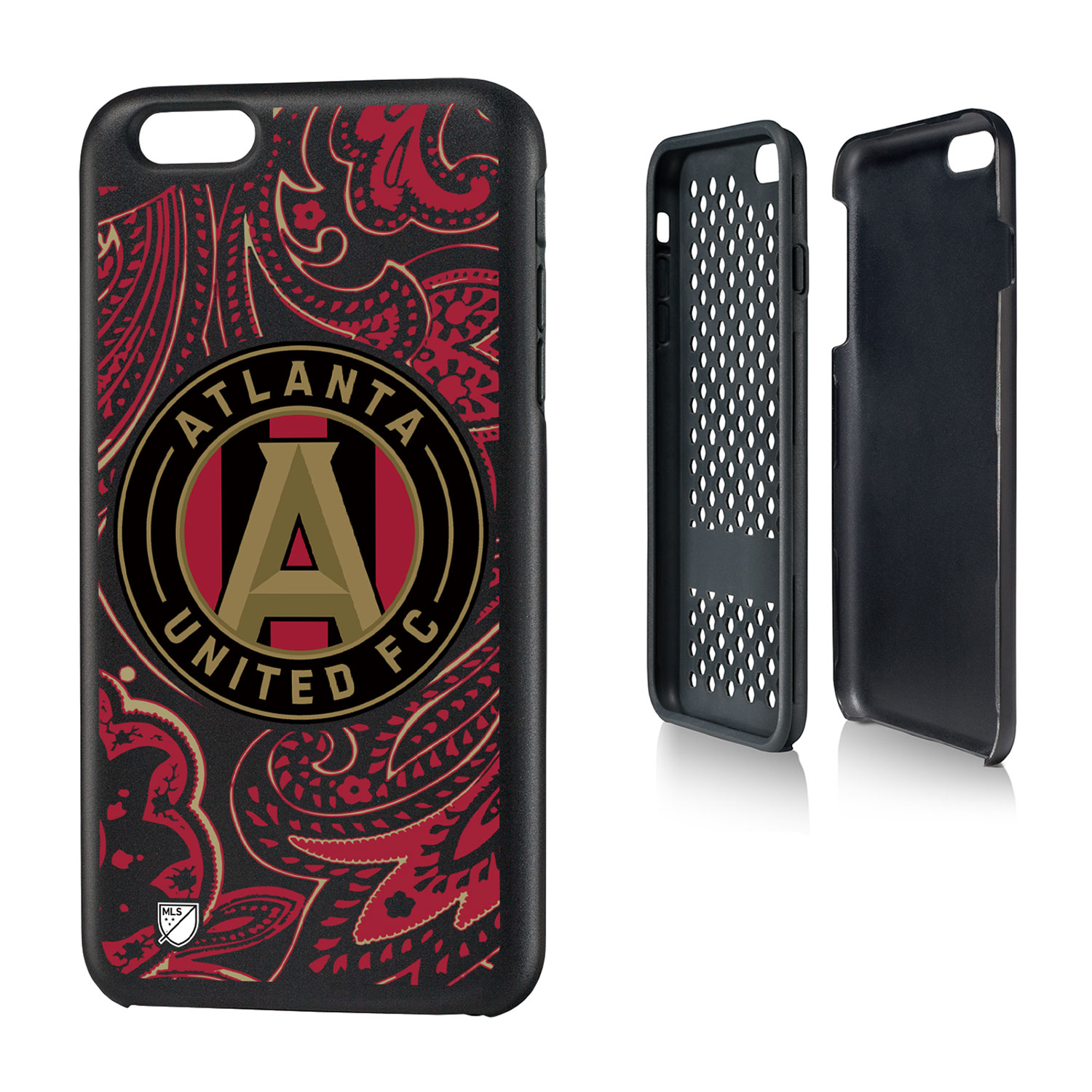 Atlanta United FC ATLUTD Paisley Rugged Case for iPhone 6 Plus