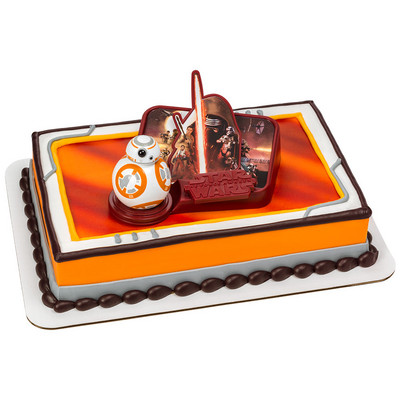 Star Wars The Force Awakens Cake Decorating Set Jpeg 400x400 Birthday Walmart