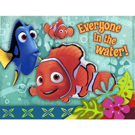 Finding Nemo -dis Invitation Nemos Coral - Nemo Invitations