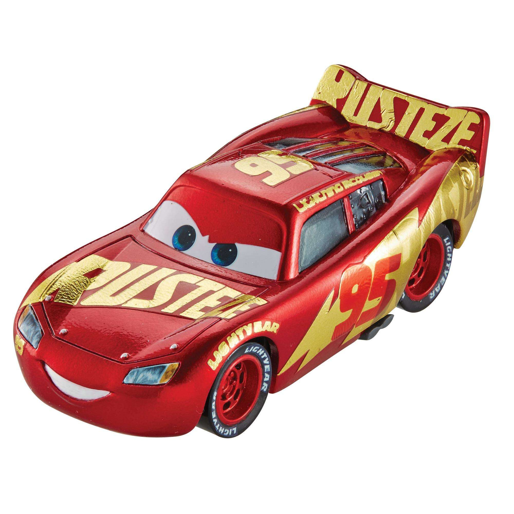 Disney/Pixar Cars 3 Rust-Eze Racing Center Lightning McQueen Die-Cast Vehicle  sc 1 st  Walmart : lighting mcqueen racing - www.canuckmediamonitor.org
