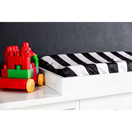 Danha Changing Pad Cover (Black & White Stripe)