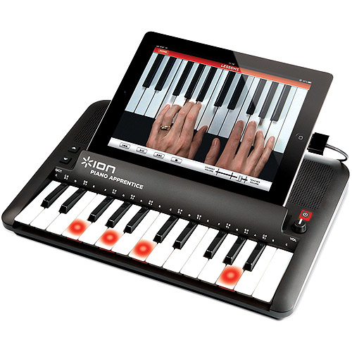 Ion Audio ICK05 Piano Apprentice with Lighted Keys for iPad, iPod and iPhone