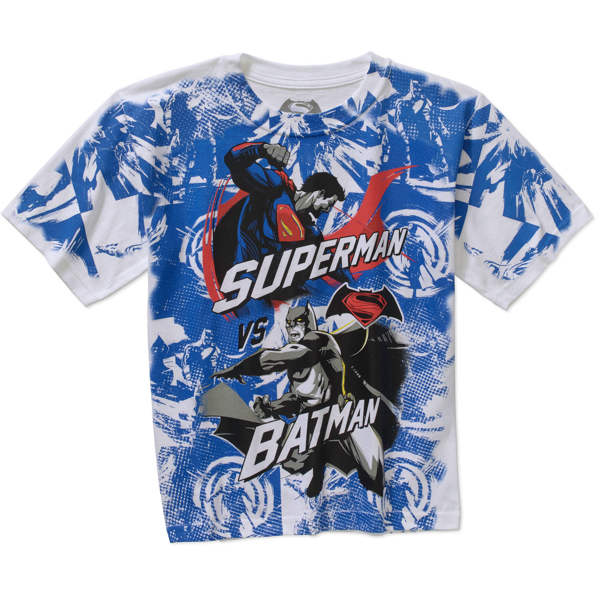 DC Comics Superman Dawn of Justice Boys Short Sleeve Graphic Tee