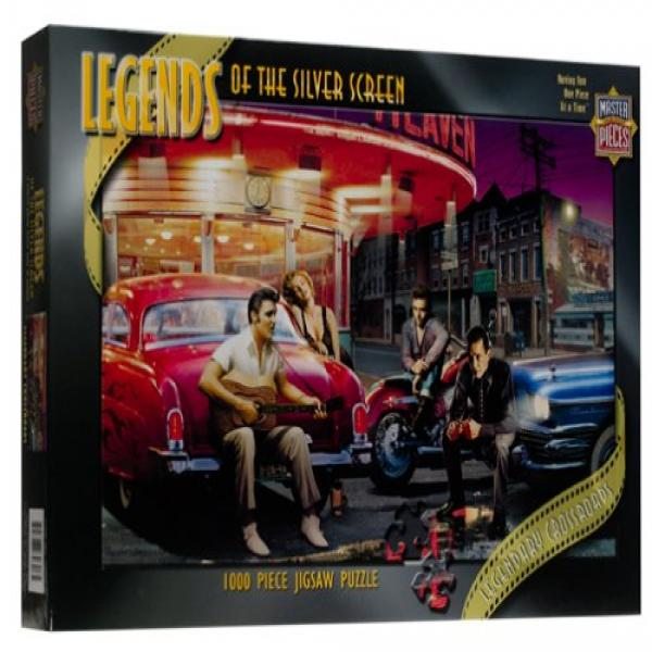 Legendary Crossroads 750 pc Legends of the Silver Screen Jigsaw Puzzle by Masterpieces
