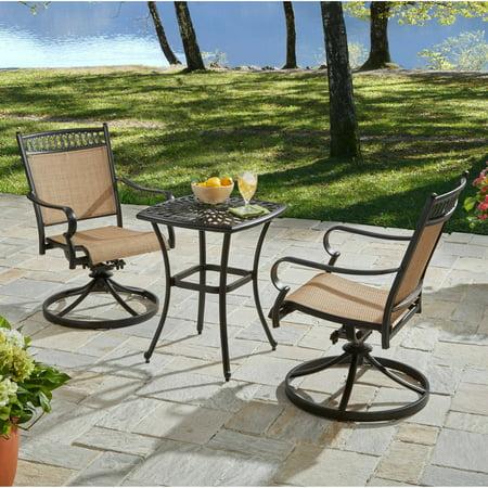 Better homes and gardens warrens 3 piece outdoor bistro - Better homes and gardens bistro set ...