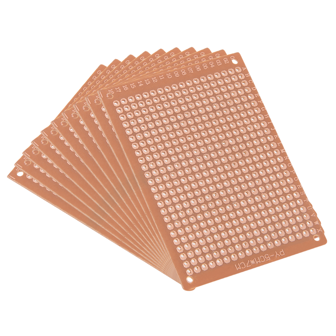 5x7cm Single Sided Universal Paper Printed Circuit Board for DIY Soldering 10pcs
