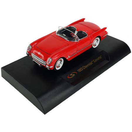 1953 Chevy Corvette Convertible, Red - Signature Models 32429 - 1/32 Scale Diecast Model Toy (370 Car)